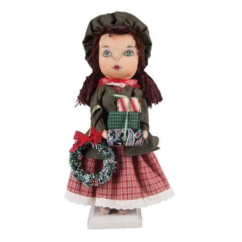Corrine Standing Girl Joe Spencer Gathered Traditions Art Doll