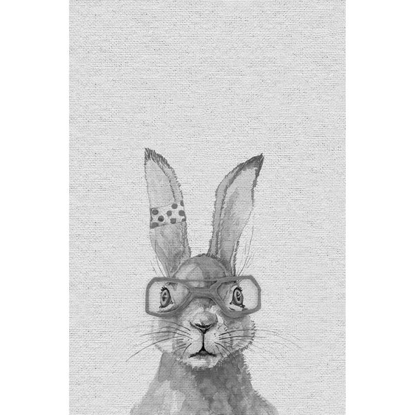 Taylor & Olive The Hairdresser Bunny Print on Wrapped Canvas