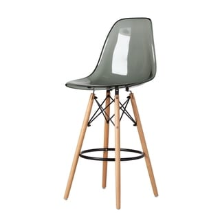 Link to Molded Acrylic DSW Counter Stool, Translucent Smoke - N/A Similar Items in Dining Room & Bar Furniture