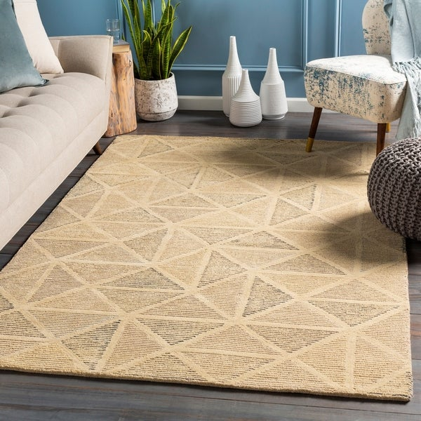 Horace Handmade Geometric Wool Area Rug
