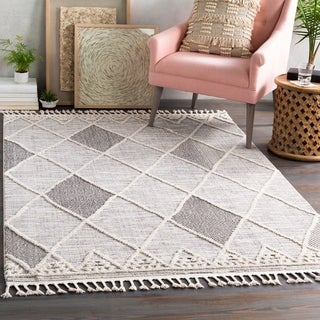 Suze Global Geometric Area Rug