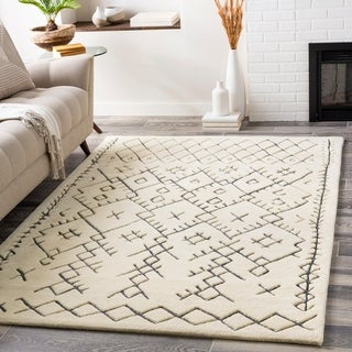 Trent Handmade Tribal Wool Area Rug