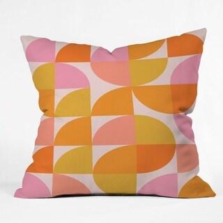 Deny Designs Modern Geometrics Reversible Throw Pillow (4 Size Options)