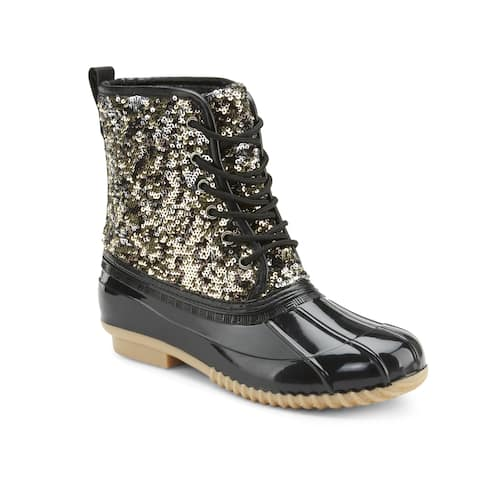 Olivia Miller 'Truth Not Dare' Duck Boots