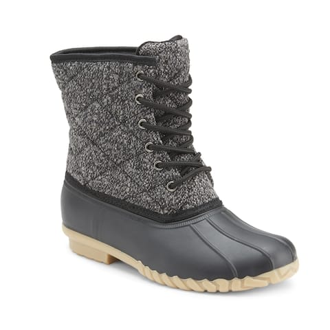 Olivia Miller 'I Know' Duck Boots
