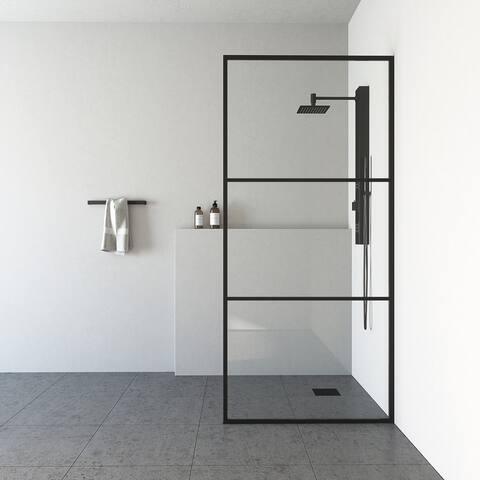 VIGO Divide Fixed Frame Shower Screen