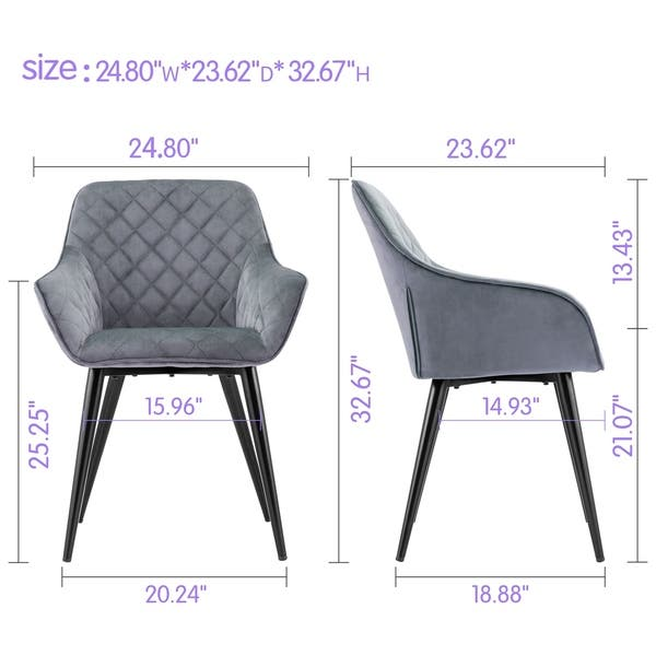 Astounding Shop Ovios Dining Chairs Accent Chair Set Of 2 Leather Forskolin Free Trial Chair Design Images Forskolin Free Trialorg
