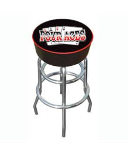 30-inch Four Aces Padded Bar Stool with Adjustable Leg Levelers|https://ak1.ostkcdn.com/images/products/2985864/3/30-inch-Four-Aces-Padded-Bar-Stool-with-Adjustable-Leg-Levelers-P11137176.jpg?impolicy=medium