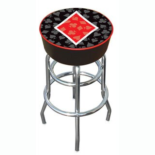 Diamond Poker 30-inch Padded Vinyl Chrome Base Double-rung Barstool|https://ak1.ostkcdn.com/images/products/2985867/P11137177.jpg?_ostk_perf_=percv&impolicy=medium