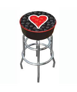 Hearts of Poker Padded Chrome-plated Bar Stool with Double-rung Base|https://ak1.ostkcdn.com/images/products/2985880/3/Hearts-of-Poker-Padded-Chrome-plated-Bar-Stool-with-Double-rung-Base-P11137178.jpg?impolicy=medium