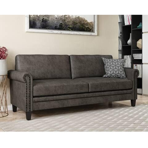 Copper Grove Flynn Rolled Arm Sofa