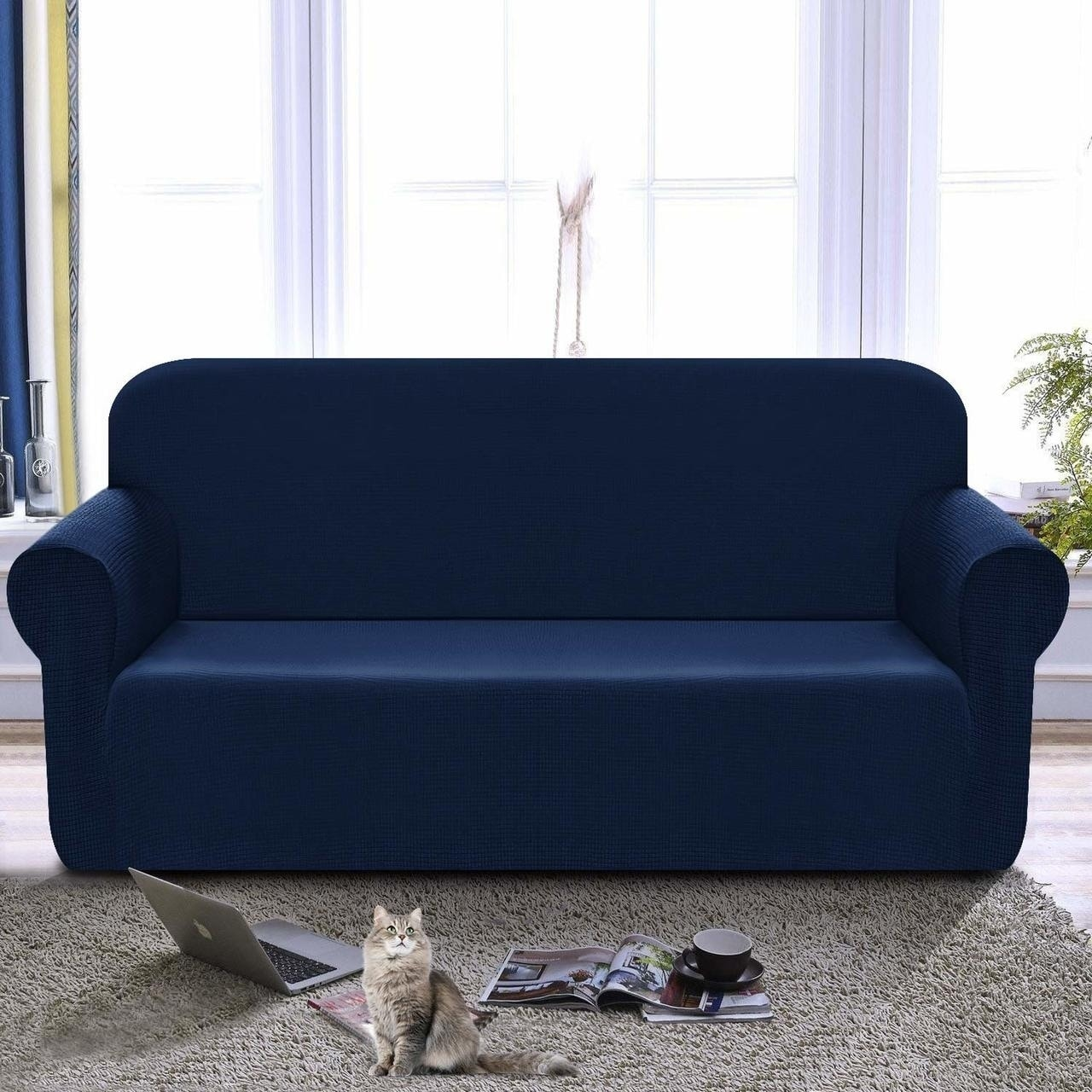 Loveseat Cover 1 Piece Couch Covers