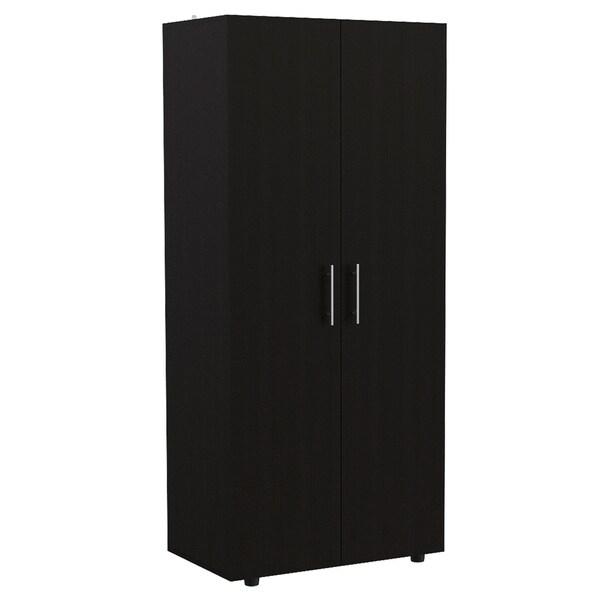 "TUHOME Tera 70"" 2 door armoire"