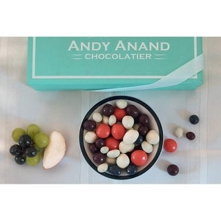 Link to Andy Anand Chocolate Bridge Mix of Fruits & Nuts Delicious- Dipped in Dark & White Chocolate,1 lbs Similar Items in Gourmet Food Baskets
