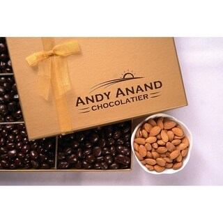 Andy Anand Sugar Free Milk Chocolate California Almonds, Delectable & Delicious,1 lbs