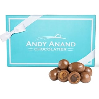 Link to Andy Anand Milk Chocolate Covered Cappuccino Biscotti Gift Boxed & Greeting Card 1lbs Similar Items in Gourmet Food Baskets