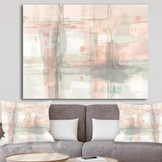 Designart 'RW Intersect II' Modern Canvas Wall Art