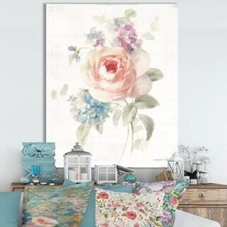Designart 'RW Cottage Garden III' Cottage Canvas Wall Art
