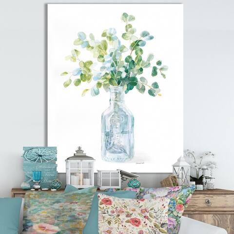 Porch & Den 'RW Beach Flowers IV' Cottage Canvas Wall Art