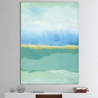 Designart ' Coastal Bliss I' Modern Canvas Wall Art