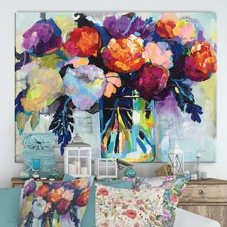 Designart ' Birthday Celebration' Cottage Canvas Wall Art