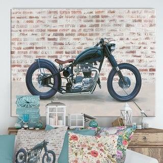 Designart 'RW Lets Roll I' Cottage Canvas Wall Art