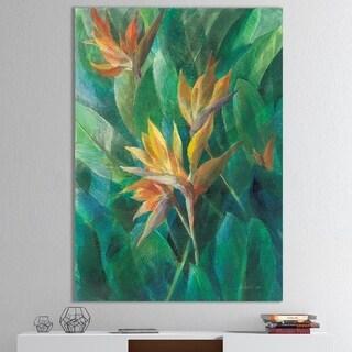 Porch & Den 'RW Bird of Paradise II' Tropical Canvas Wall Art