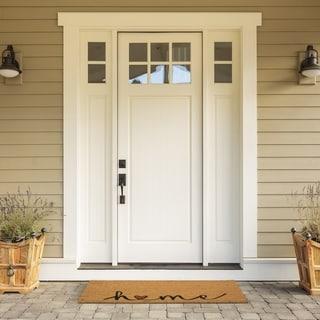 Welcome Home Heart Coir Door Mat