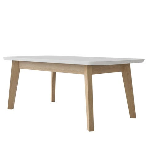 Copper Grove Isadora Modern Wood Cocktail Table