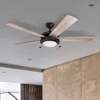 Link to Prominence Home Bolivar Ceiling Fan, Modern Farmhouse, 5 Barnwood Blades, Espresso - 52-inch Similar Items in Ceiling Fans
