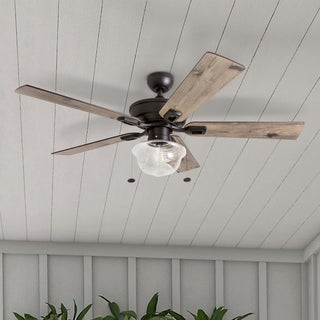 Link to Copper Grove Strang Indoor/ Outdoor Ceiling Fan - 52-inch Similar Items in Ceiling Fans