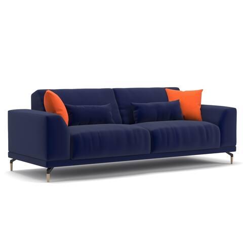 Meta Modern Sofa with 4 Pillow Set