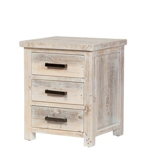 The Gray Barn Honeysuckle Reclaimed Pine Nightstand