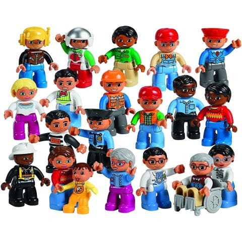 LEGO DUPLO Community People Set - Age Mark: 2+, Piece count: 21 by LEGO