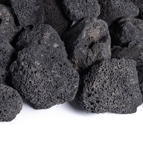 Lava Rock - Fireproof and Heatproof Volcanic Lava Rock, Natural Stones 10 lbs