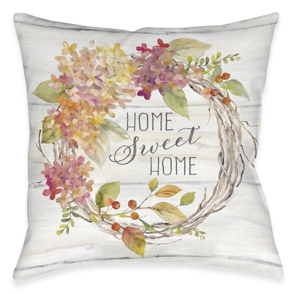 Sweet Autumn Outdoor Pillow On