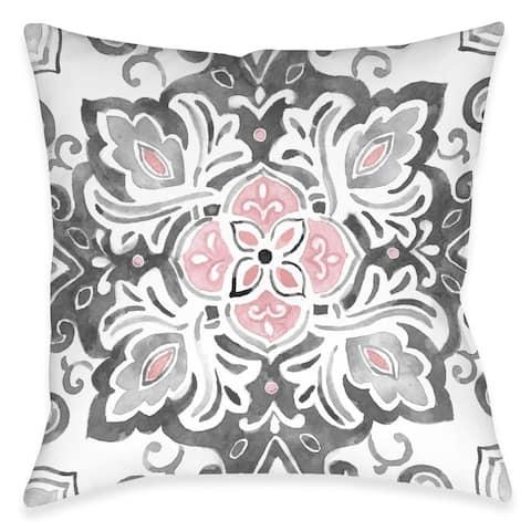 Royal Medallion Outdoor Pillow