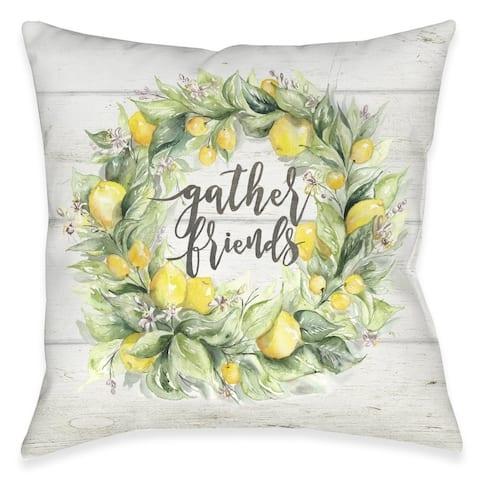 Gather Friends Outdoor Pillow