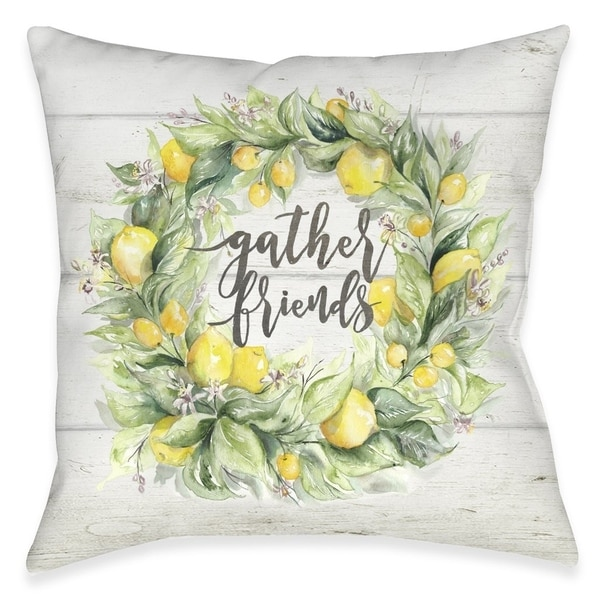 Gather Friends Outdoor Pillow. Opens flyout.