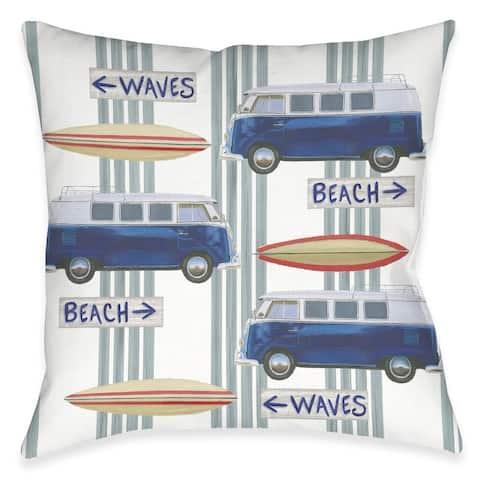 Beach Time Outdoor Pillow