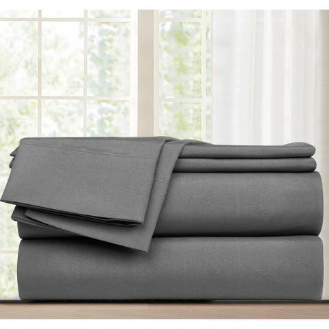 Grand Avenue Promise 4-Piece Flat Sheet Set