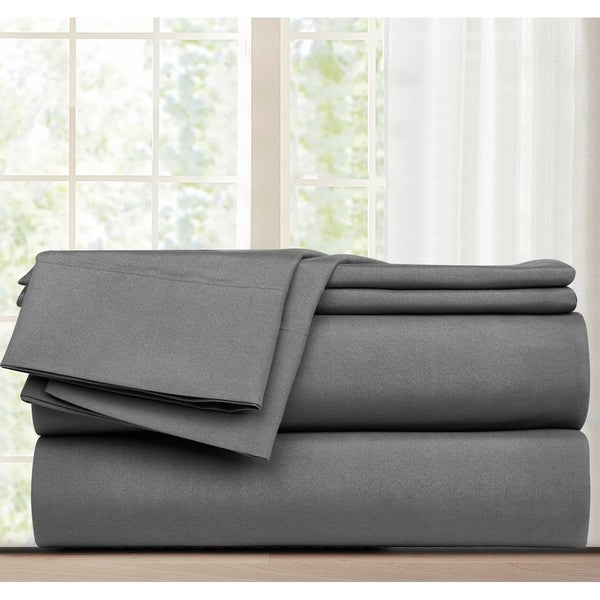 Grand Avenue Promise 4-Piece Flat Sheet Set. Opens flyout.