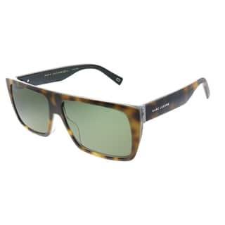 Marc Jacobs Marc Icon096 2S0 Unisex Havana Frame Green Lens Sunglasses