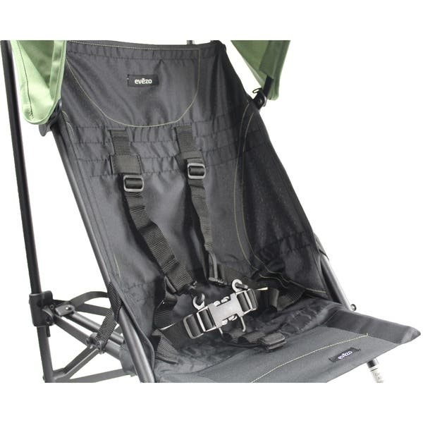 Evezo Kalena Compact Lightweight City Umbrella Baby Stroller w// Canopy
