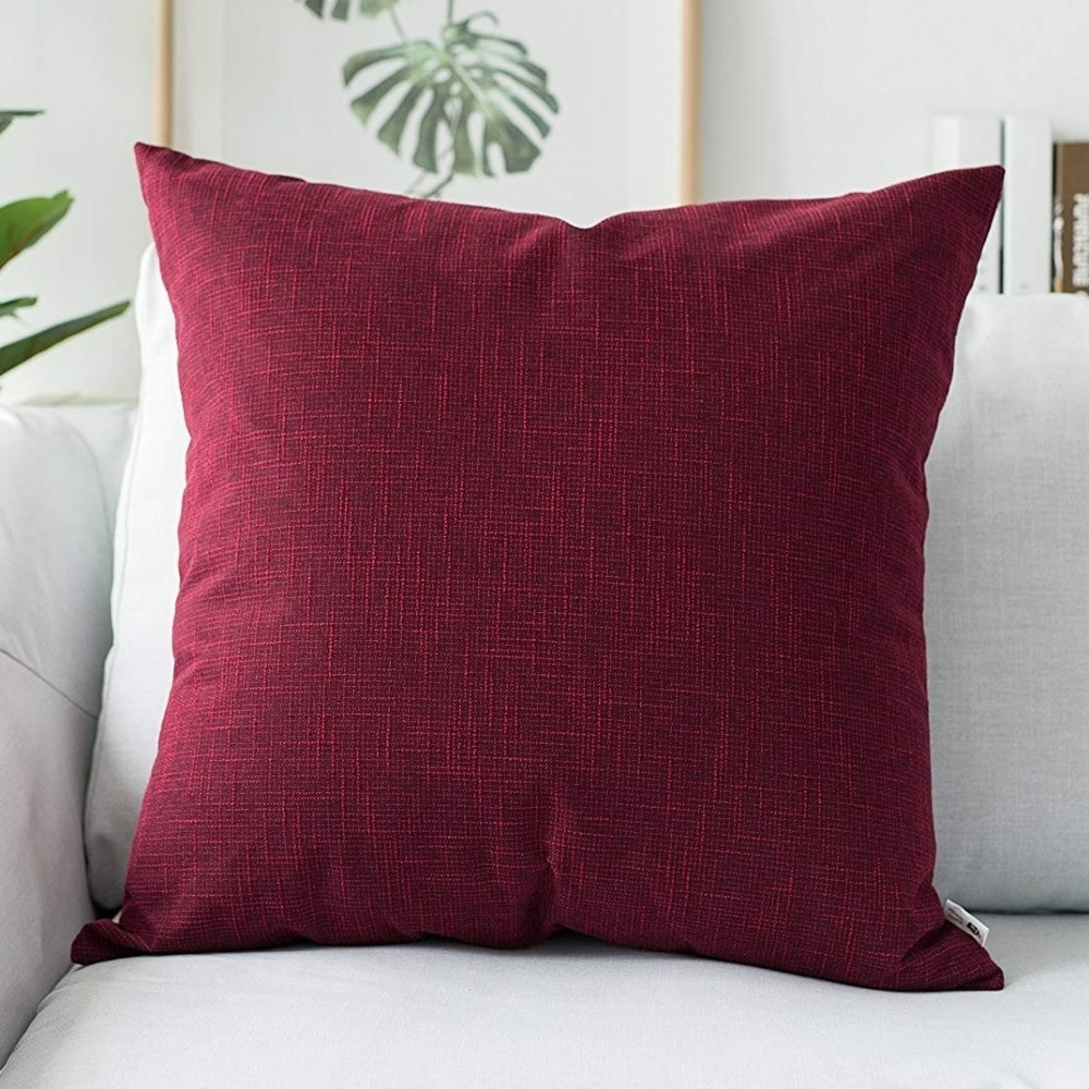 Tone Throw Pillow Case Peridot