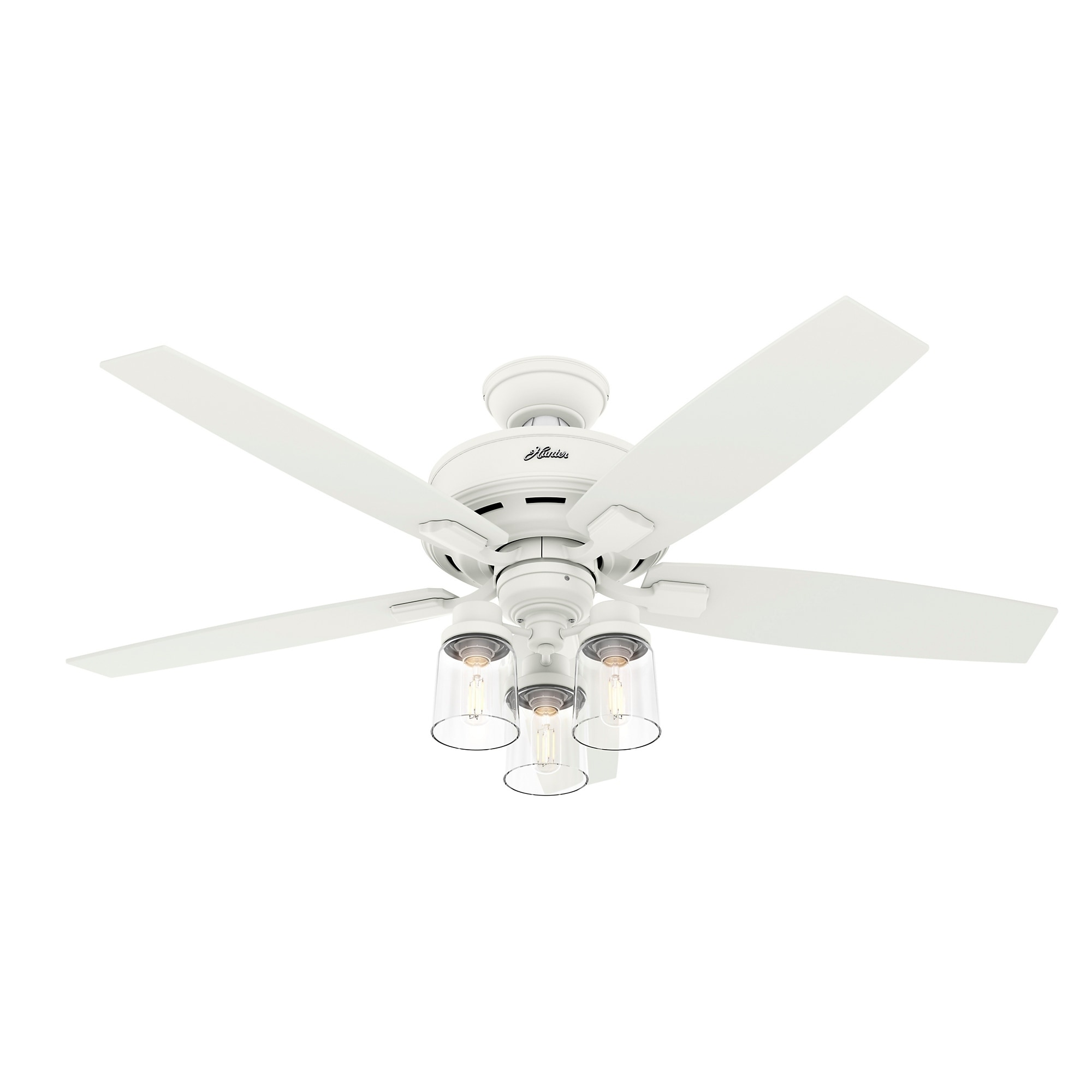 Bennett White Ceiling Fan With Led