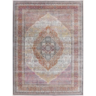 Traditional Floral Distressed Turkish Oriental Area Rugs Home Decor