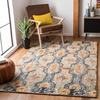 Safavieh Handmade Trace Idelette Contemporary Wool Rug-
