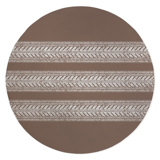 BOYD TIRE TRACK BROWN Area Rug By Kavka Designs