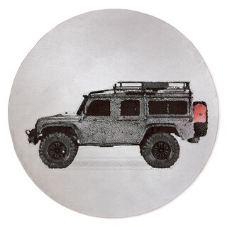 MAX LAND ROVER Area Rug By Kavka Designs